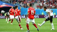 مصر با صلاح هم در جام جهانی باخت